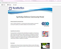 SyntheSys Defence Community Portal
